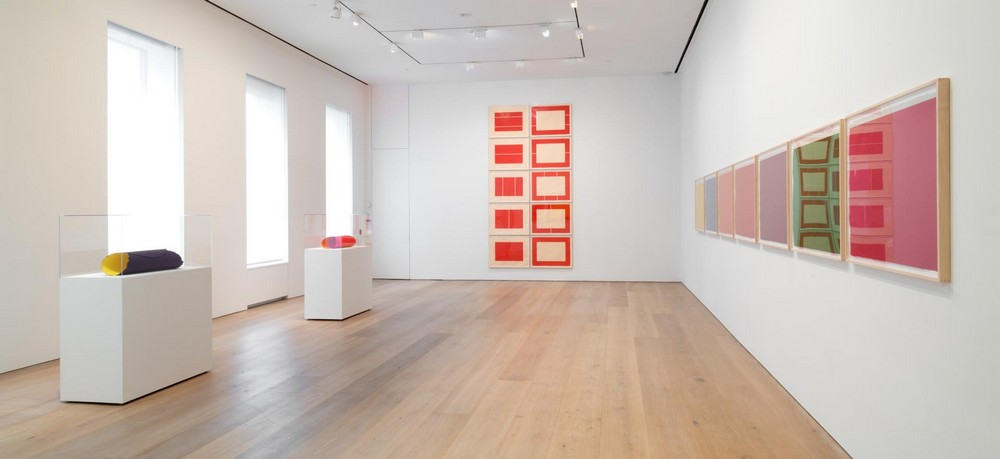 david zwirner Let's take a look at over 25 years of David Zwirner's gallery Installation view Prints Flavin Judd Sandback David Zwirner New York 2014 1