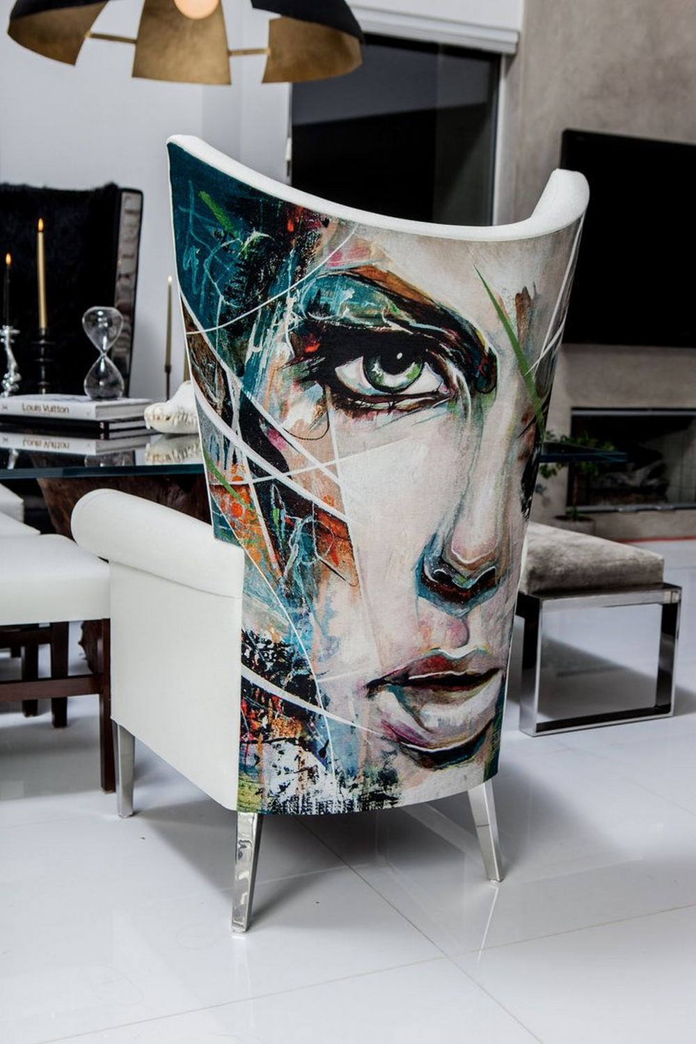 grand designs live london See 10 amazing furniture brands to see at Grand Designs Live London TACHINI Painted Artwork Tables1