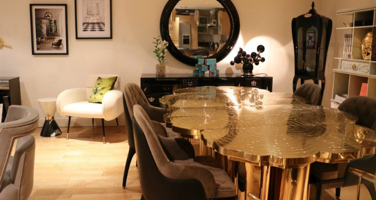 luxury showroom Luxury Showroom In London Has New and Exciting Design Pieces feat 4 750x400