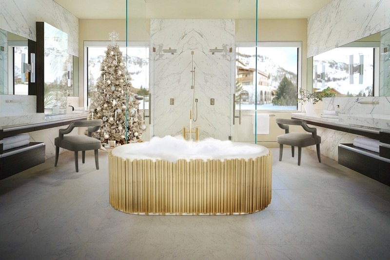 Discover How To Add a Holiday Touch to Your Luxury Bathroom luxury bathroom Discover How To Add a Holiday Touch to Your Luxury Bathroom Discover How To Add a Holiday Touch to Your Luxury Bathroom 1