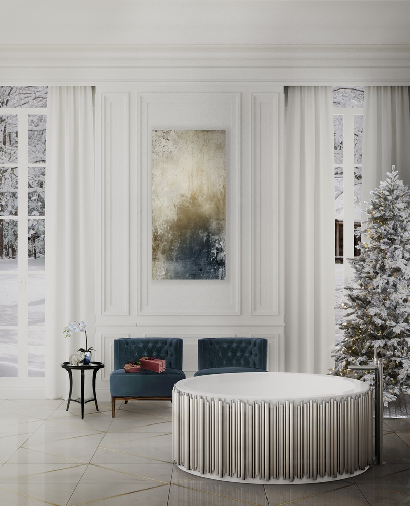 Discover How To Add a Holiday Touch to Your Luxury Bathroom luxury bathroom Discover How To Add a Holiday Touch to Your Luxury Bathroom Discover How To Add a Holiday Touch to Your Luxury Bathroom 3
