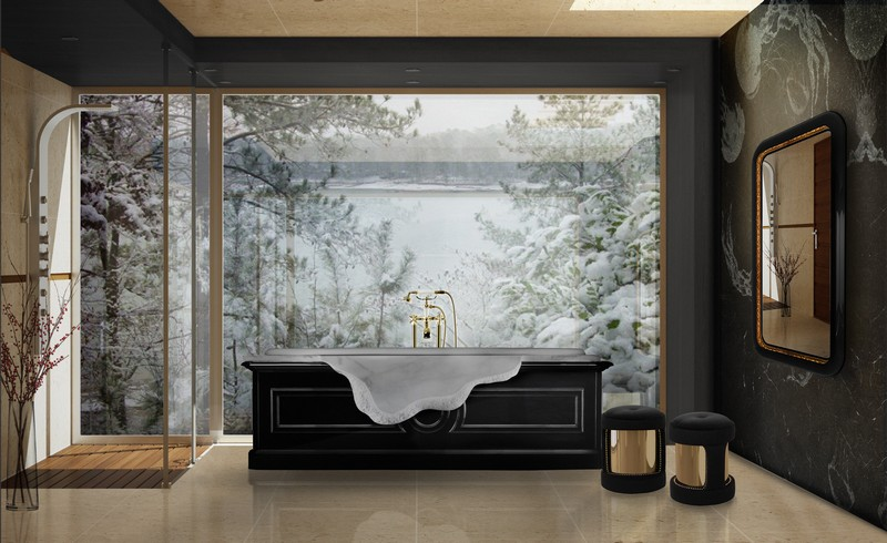 Discover How To Add a Holiday Touch to Your Luxury Bathroom luxury bathroom Discover How To Add a Holiday Touch to Your Luxury Bathroom Discover How To Add a Holiday Touch to Your Luxury Bathroom 5