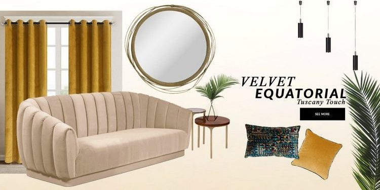 Interior Design Trends 2020 Velvet Equatorial interior design trends Interior Design Trends 2020: Velvet Equatorial Interior Design Trends 2020 Velvet Equatorial 1 750x375