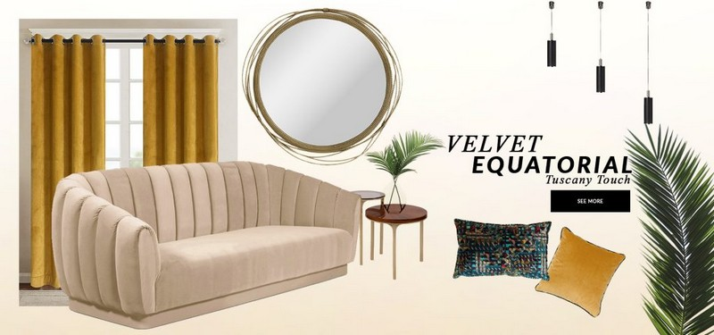 Interior Design Trends 2020 Velvet Equatorial interior design trends Interior Design Trends 2020: Velvet Equatorial Interior Design Trends 2020 Velvet Equatorial 1