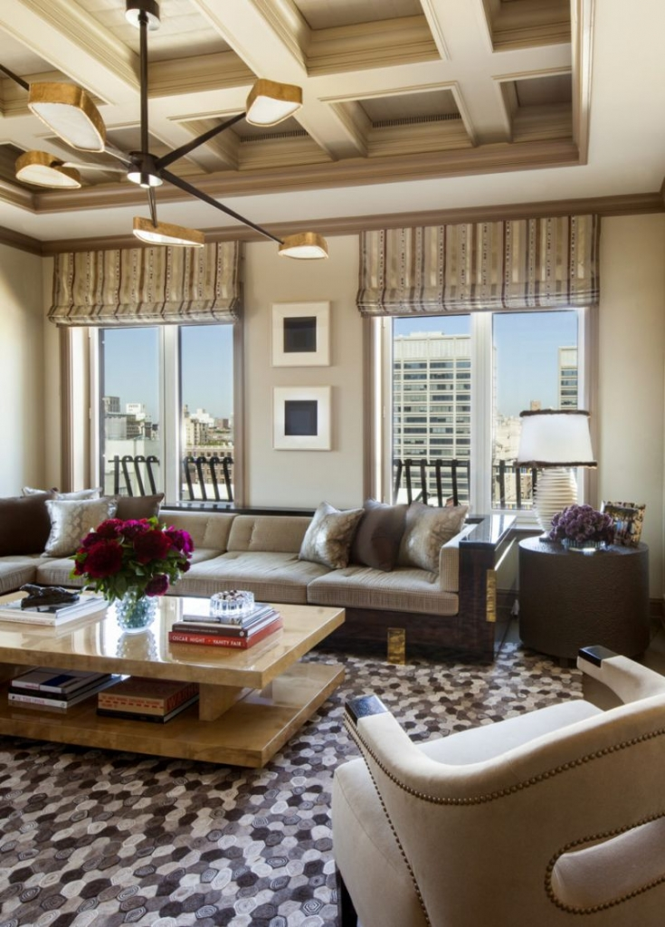 A Luxury Penthouse in NYC by Arthur Dunnam for Jed Johnson Studio 6