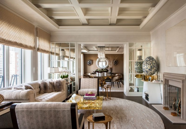 A Luxury Penthouse in NYC by Arthur Dunnam for Jed Johnson Studio 2