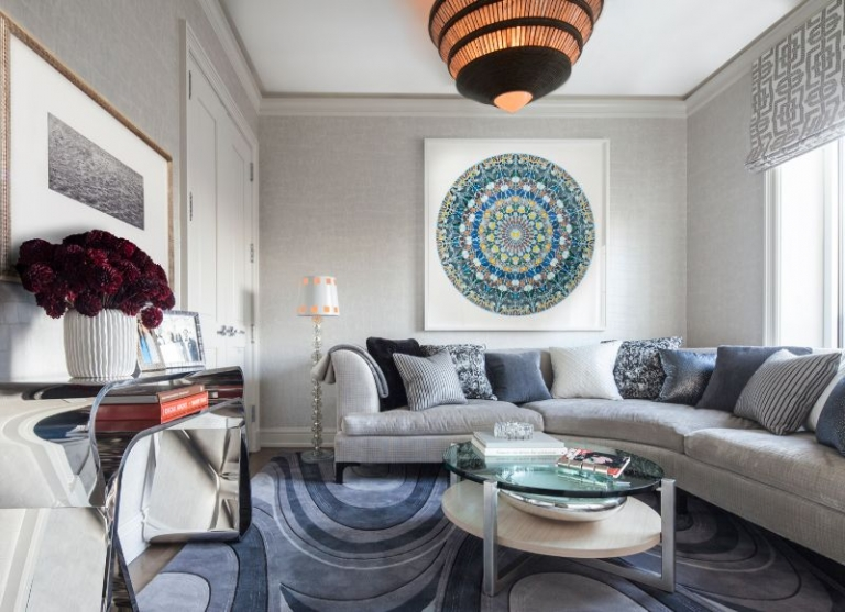 A Luxury Penthouse in NYC by Arthur Dunnam for Jed Johnson Studio 3