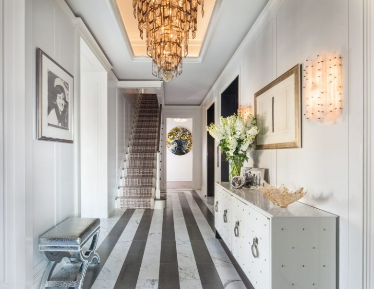 A Luxury Penthouse in NYC by Arthur Dunnam for Jed Johnson Studio 5