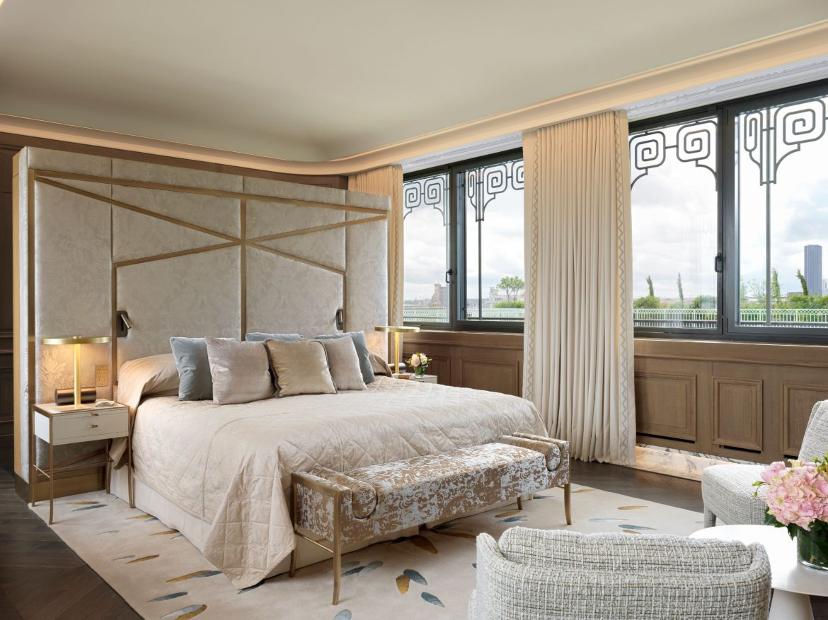 Belle Etoile Suite at Hotel Le meurice 16 belle BELLE ETOILE SUITE AT HOTEL LE MEURICE: an authentic dream design by Lally & Berger BELLE ETOILE 06 scaled