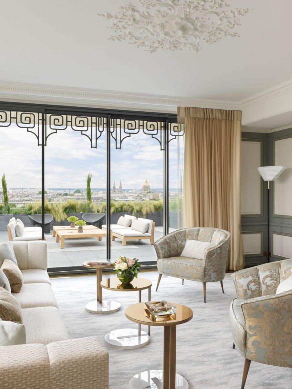 Belle Etoile Suite at Hotel Le meurice 12