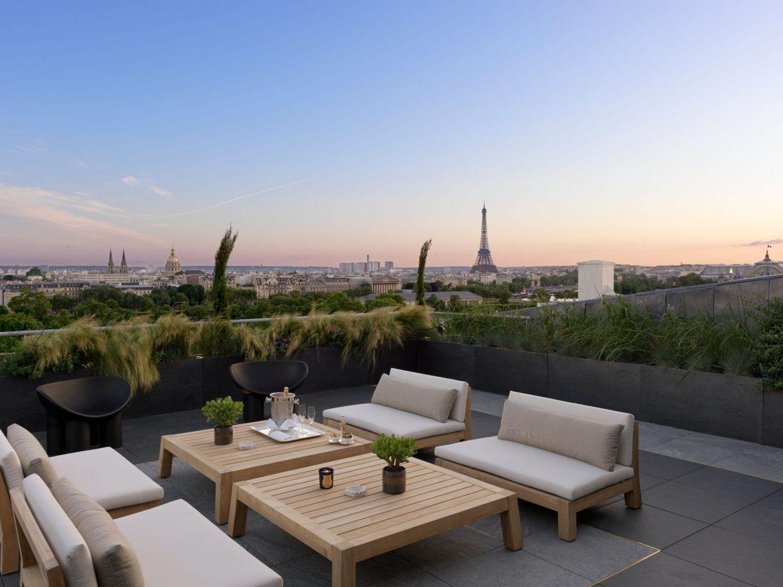 Belle Etoile Suite at Hotel Le meurice 3