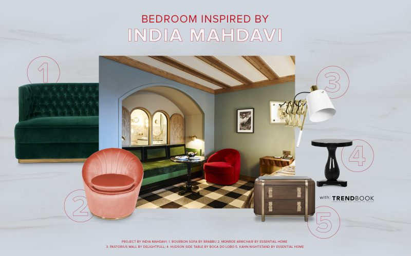 india mahdavi Bedroom Décor Inspired By India Mahdavi india mahdavi e1581590295702