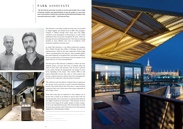 Discover The Best Interior Designers of Milan 4 milan Free Ebook – Discover The Best Interior Designers of Milan park