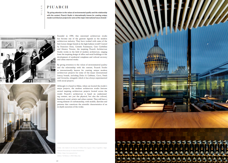 Discover The Best Interior Designers of Milan 6 milan Free Ebook – Discover The Best Interior Designers of Milan piuacrh