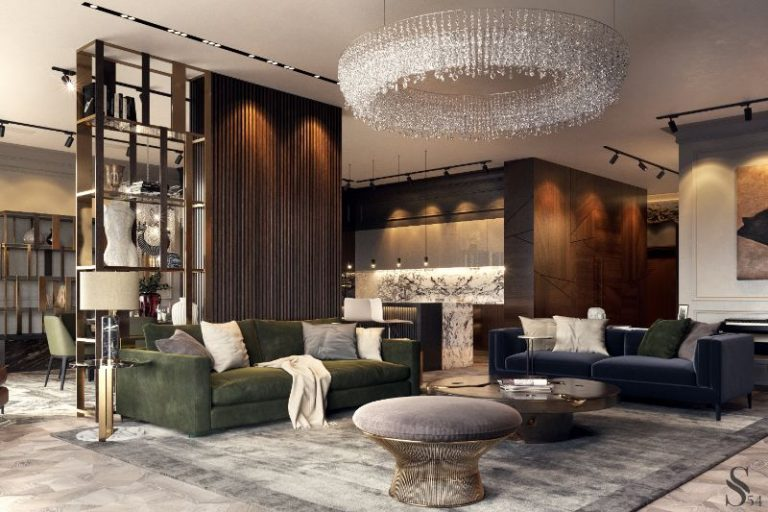 A Luxury Apartment in Russia Designed by Studia-54 8 luxury A Luxury Apartment in Russia Designed by Studia-54 A Luxury Apartment in Russia Designed by Studia 54 2