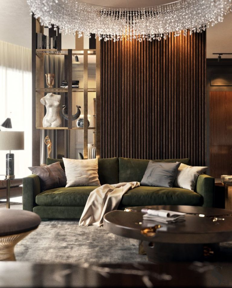 living room Inspiring Living Room Trends and Projects By Top Designers A Luxury Apartment in Russia Designed by Studia 54 4 1