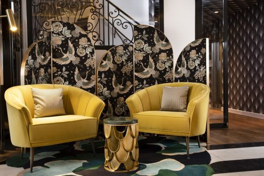 How to Use Color Trends by Top Interior Designers 5 color trends How to Use Color Trends by Top Interior Designers Outstanding Decor at Hotel Victor Hugo Paris Kl  ber 3