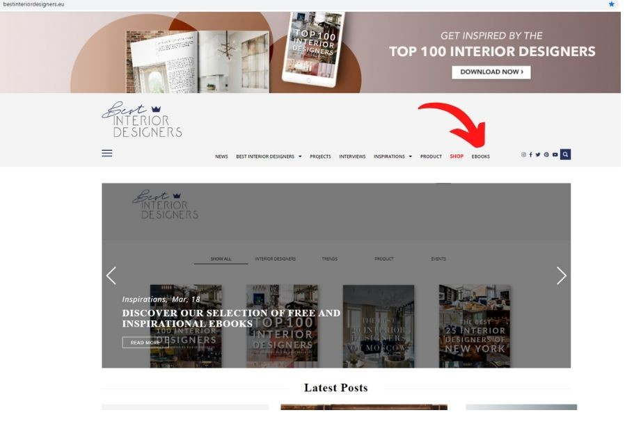 Free and Inspirational Interior Design Ebooks That You Will Love 2