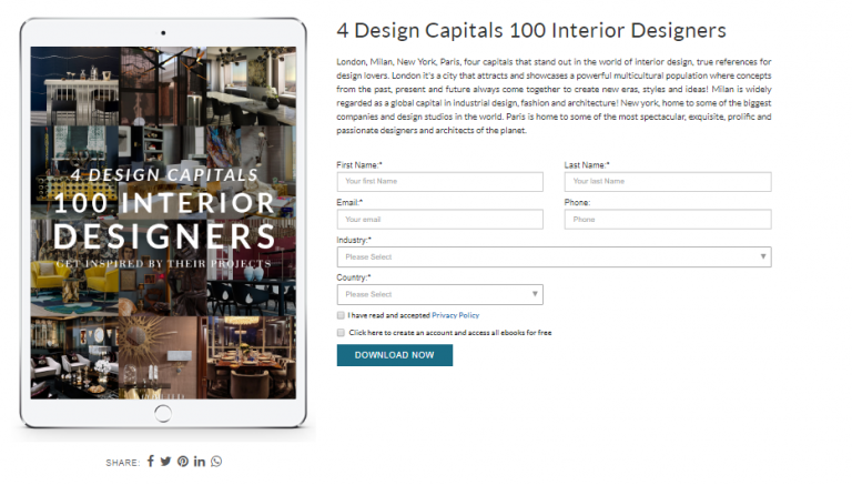 Free and Inspirational Interior Design Ebooks That You Will Love 3
